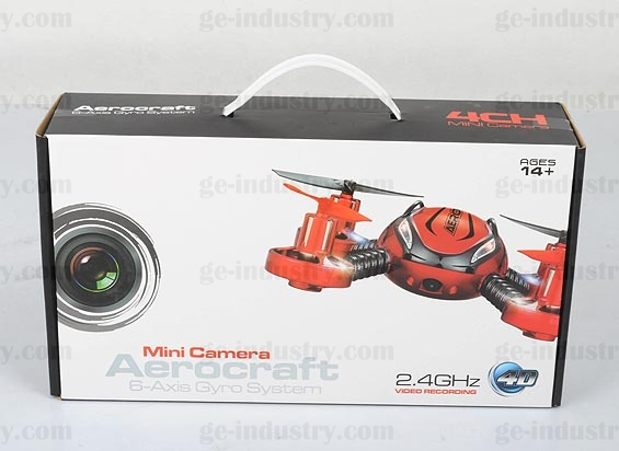 2.4G 4CH Mini Camera UFO with 6 Axis Gyro